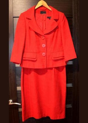 Костюм платье пиджак