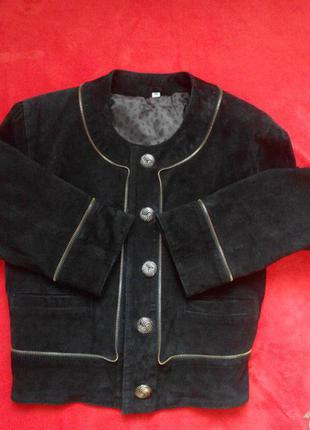 Куртка-косуха натуральный замш-кожа