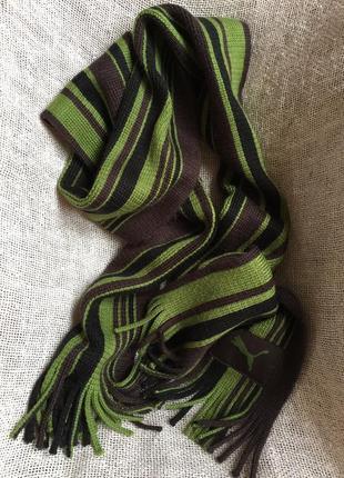 Puma шарф 25*200