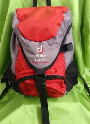 Рюкзак deuter aircomfort walk air 20 наплічник сумка турист
