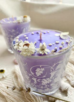 """Свічки """"lavender spring"""""""