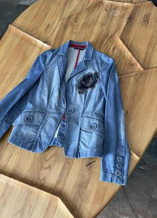 Джинсовый пиджак kenzo