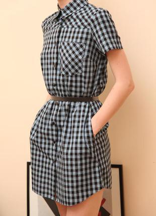 Платье-рубашка украинского бренда cardo