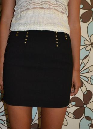 Классическая юбка h&m