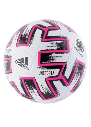 М'яч футбольний adidas uniforia club euro-2020 fr8067 білий