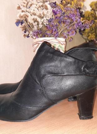Кожаные туфли ботинки р-р 40 бренд san marino