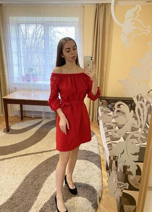 Плаття червоне нова дешево торг
