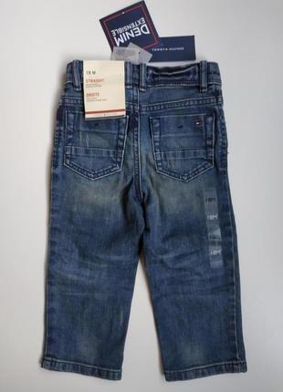 Джинсы детские tommy hilfiger на 12-18 месяцев штаны