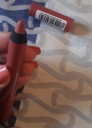 Новая нюдовая помада-карандаш, естественная помада, розовая, нюдовая помада