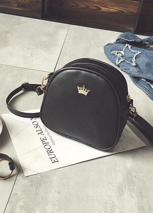 Цвета в наличии! стильная черная сумка кроссбоди / клатч на длинном ремешке
