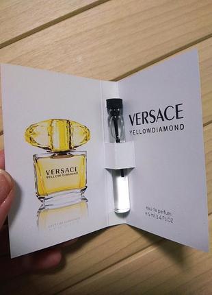 Духи парфюм пробник versace yellow diamonds от versace ☕ объём 5мл