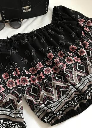 Красивая летняя блуза 💕