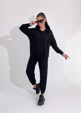 Женский спортивный костюм оверсайз весна теплый саободный приятный к телу харьков купить
