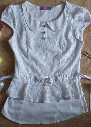 Нарядная блузочка, размер xs