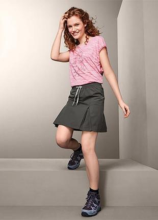 Спортивная юбка с шортами tcm tchibo р-р 44 евро