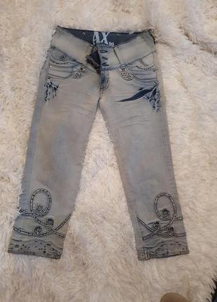 Крутые джинсы (капри)