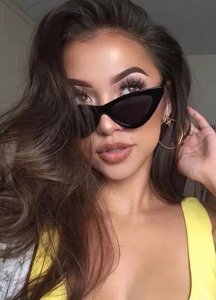 Винтажные очки сat eye