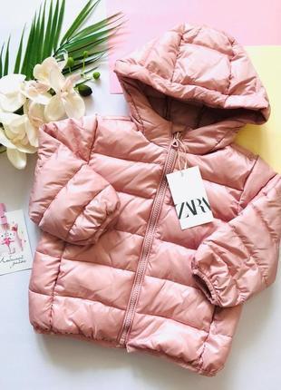 Куртка для девочки на весну курточка демисезонная zara