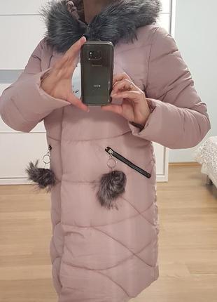 Стильная, утепленная куртка, р. xs, или  s, m, l