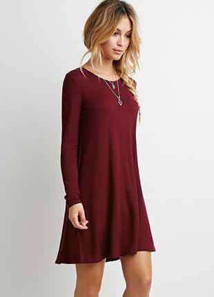 Коктельное платье свободного кроя