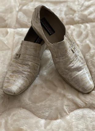 Весенне-летние туфли италия