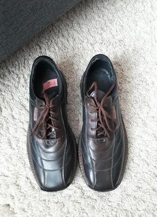 Кожаные шкіряні туфли ботинки rieker