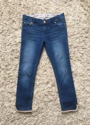 Стильные джинсы fracomina mini на девочку 9-10 лет
