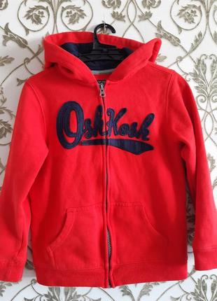 Утепленная кофта, бренд oshkosh,  размер 8 лет