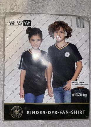 Футболка для футбола на мальчика 146/152 германия