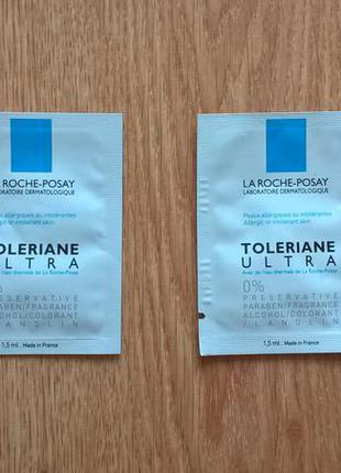 La roche-posay toleriane ultra intense soothing care; 10 грн за 2шт