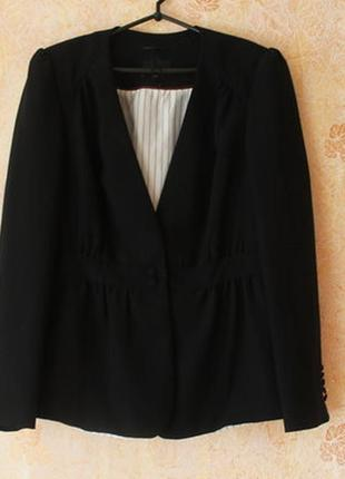 Оригинальный пиджак жакет next 50-54р большого размера батал