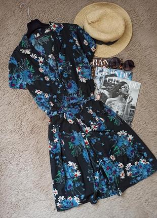 Красивое платье-рубашка с поясом/сукня халат/плаття