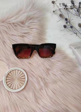 Очки окуляри солнцезащитные солнце трендовые леопард новые3 фото