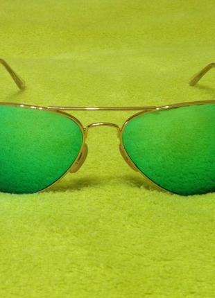 Солнцезащитные очки авиаторы ray ban - оригинал
