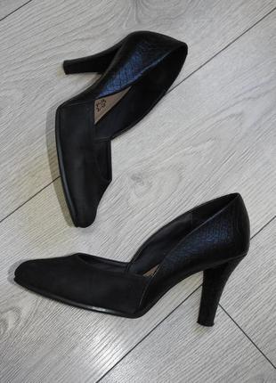 Туфли кожаные footglove оригинал размер 38 стелька 24.5 см