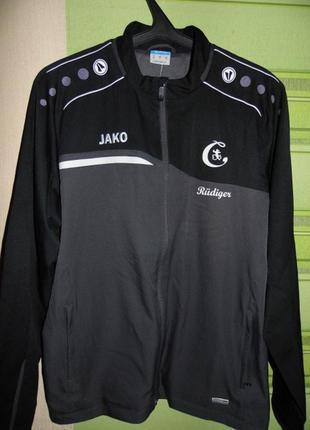 Спортивная кофта олимпийка куртка мастерка - jako - xl - new!