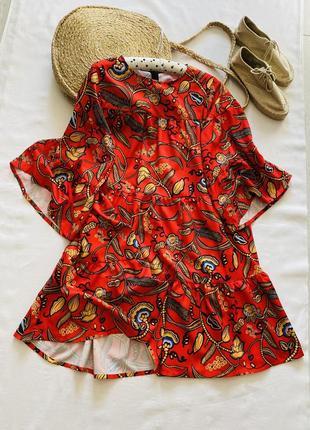 Очень красивое эффектное платье