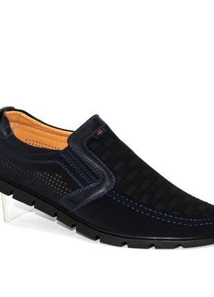 Мужские летние туфли больших размеров fd312-3b