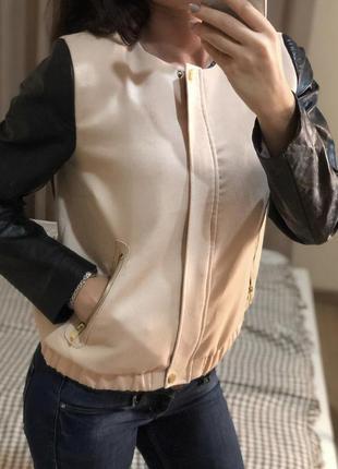Демисезонная курточка h&m кож зам