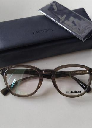 Новая оправа jil sander х raf simons оригинал унисекс очки прозрачные тренд