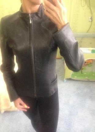 Кожаная куртка, кожаный пиджак