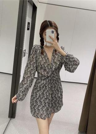 Элегантное платье от zara