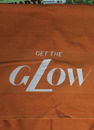 Пляжное полотенце lancaste  оранжевого цвета