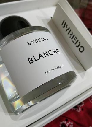 Byredo blanche оригинал_eau de parfum 3 мл затест_парфюм.вода