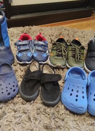 За все 500 грн! обувь на мальчика р 28-29 стелька 17,5-18 см