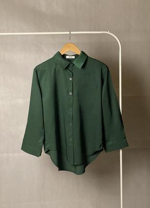 Сатиновая рубашка