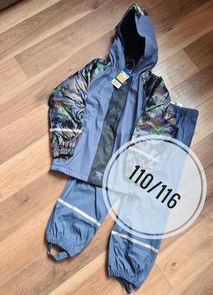 Lupilu грязепруф дождевик  комплект 110/116 куртка и штаны