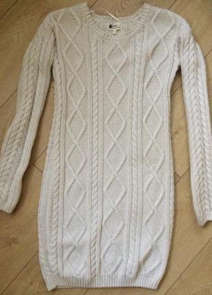 Вязаное платье  next, 36-38р