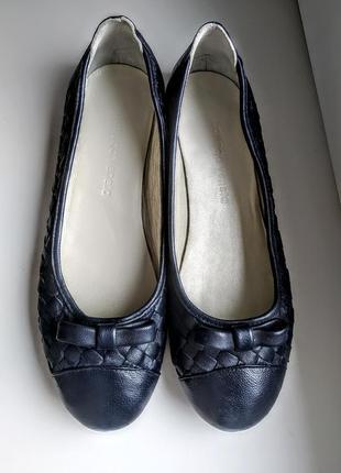 Туфли балетки плетеные мокасины тапочки  bottega veneta