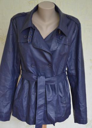 Классная курточка,жакет из  экокожи, высокого качества